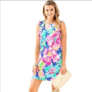 Lilly Pulitzer Esmeralda flutter sleeve dress, XXS